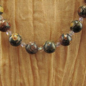 Leopard Skin Jasper Necklace