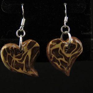 Leopard Print Funky Heart