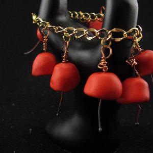 Modern Poppies Bracelet