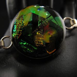 Medium Dichroic 'Glass' Bangle