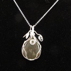 Labradorite Pear Shape 39.08 cts