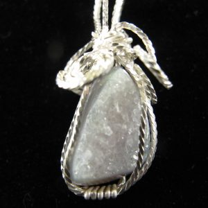 Wire Wrapped Druzy 19.45 cts