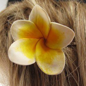 Frangipani Hair Pin