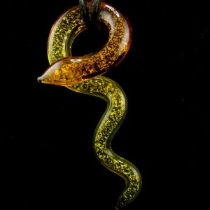 Glass Snake Pendant