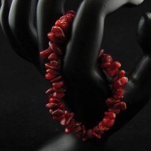 Coral Chips Bracelet