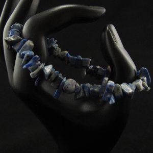 Sodalite Chips Stretch Bracelet