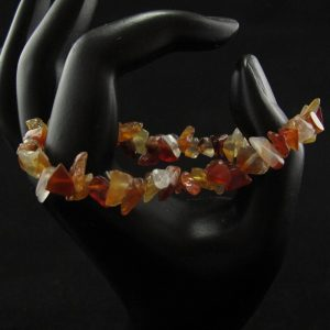 Mixed Quartz Chips Stretch Bracelet