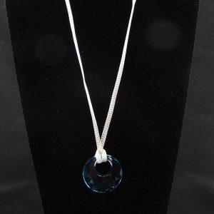 Swarovski 'Victory' Crystal Pendant – 'Aquamarine'