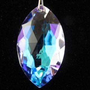 Faceted Marquise Crystal Pendant
