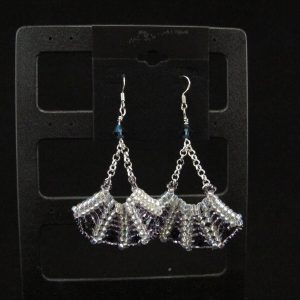 Swarovski Fan Earrings