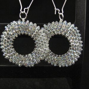 Silver AB Hoops