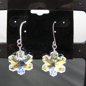 Swarovski Crystal AB Snowflakes