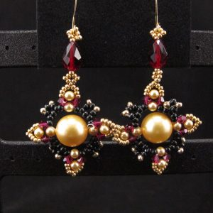 Oriental Pearl Earrings