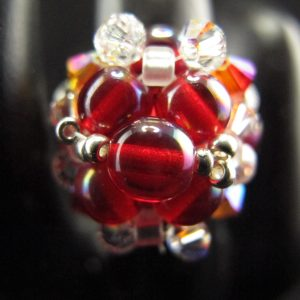 Red 'Elegant' Ring