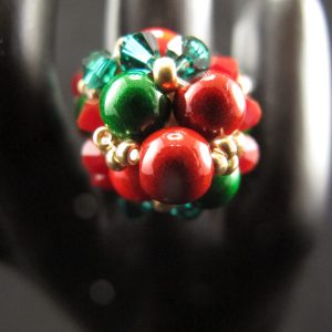 Christmas Baubles Ring