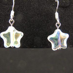 Crystal AB Star Earrings
