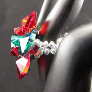 Swarovski Christmas Cocktail Ring
