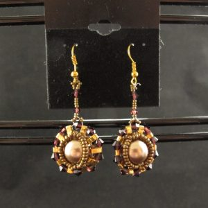 'Half-Tila' Pearl Earrings