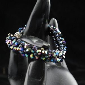 Black Iridescent Bracelet