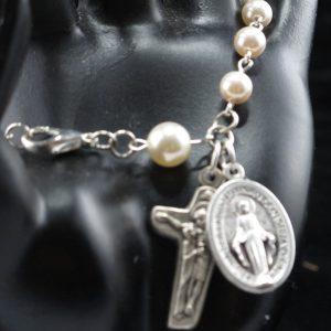 Swarovski Pearl Rosary Bracelet