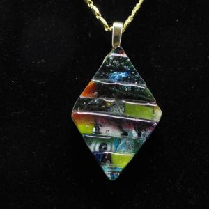 RAM Series Glass Diamond Pendant