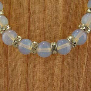 Opalite Bead Necklace