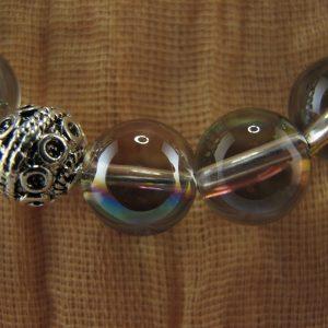 Quartz Bead Necklace