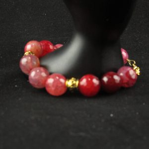 Dragon Vein Agate Bracelet
