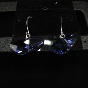 Swarovski 'Tanzanite' Large 'Wings'