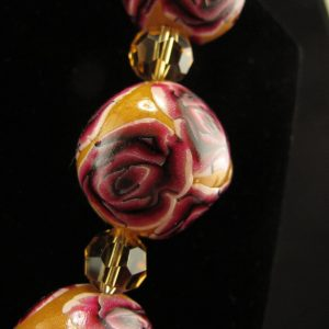 Large Millefiori Beads