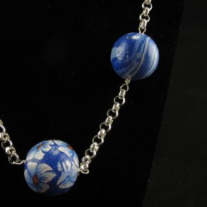 Millefiori & Marbled Beads