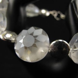 Etched Crystal Bracelet