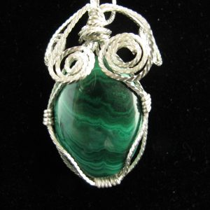 Pendants - Wire Wrapped Gemstones