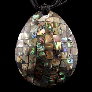 Mosaic Shell Pendant
