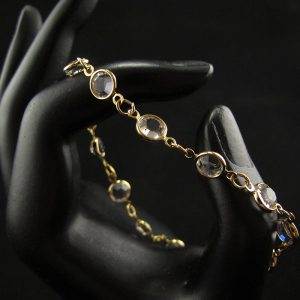 Swarovski Crystals Chain Bracelet