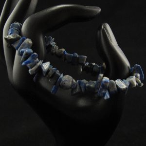 Sodalite Chips Stretch Bracelet