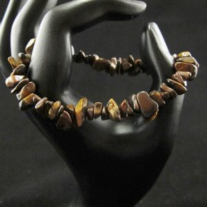 Tiger Eye Chips Stretch Bracelet