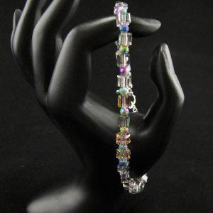 Rainbow Cube Bracelet – Large Size