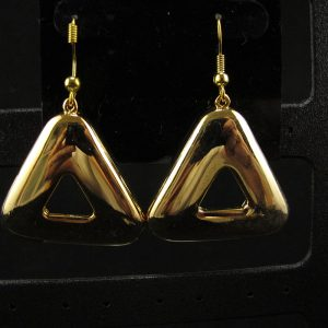 Swarovski Gold Cosmic Triangle