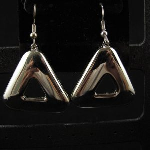 Swarovski Silver Cosmic Triangle
