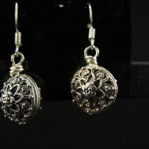 Sterling Silver Victorian Earrings