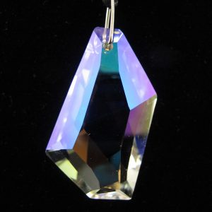 Faceted Asymmetrical Crystal Pendant
