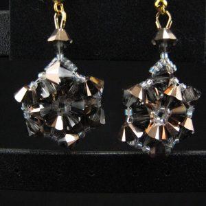 Swarovski Hexagonal Earrings