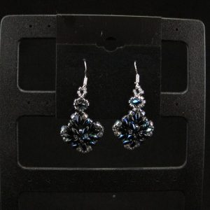 Super Duo 'Diamond' Shaped Earrings
