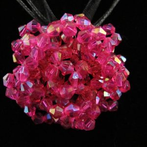 Czech Crystal Rose