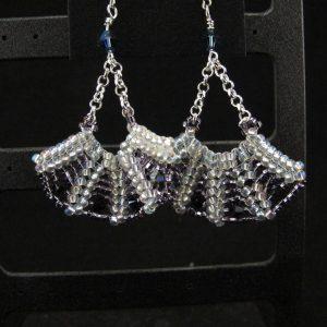 Swarovski Fan Earrings