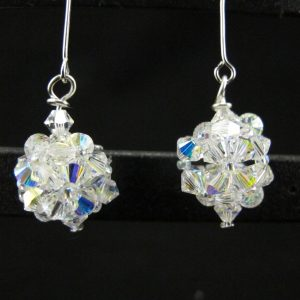 Swarovski Crystal AB Bead Dangle