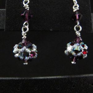 Montee embellished Bead Earring