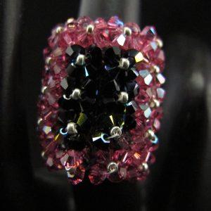 Swarovski Crystal Rectangle Ring