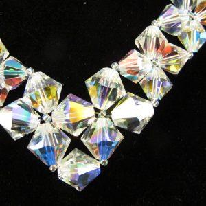 Swarovski Crystal 'V' Necklace